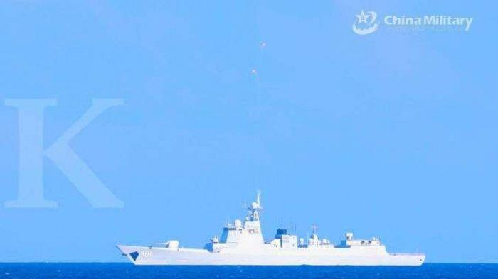 Militer China Tugaskan Kapal Perusak Baru Dengan Peluru Kendali