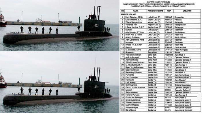 KRI Nanggala-402 Harus Ditemukan Sebelum Pukul 03.00 WIB, Berikut Penjelasan KSAL