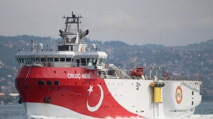 Turki Tuduh Jet Tempur Yunani Ganggu Kapal Penelitian di Laut Aegean