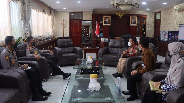 Kapolda Terima Audiensi Kepala Balai Arsip Statis dan Tsunami Aceh