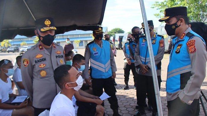 Kapolda Aceh Pantau Pemeriksaan Kesehatan 180 Calon Bintara Polri di RS Bhayangkara