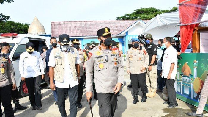Kapolda Aceh Tinjau Pos Pelayanan Lebaran di Aceh Timur