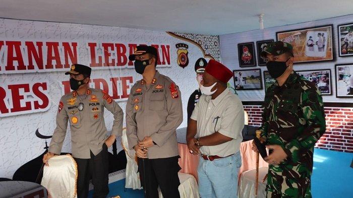 Kapolda Aceh Tinjau Pos Pengamanan Operasi Ketupat Seulawah Polres Pidie