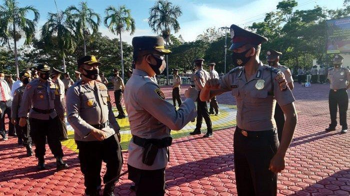 68 Personel Polres Aceh Besar Naik Pangkat