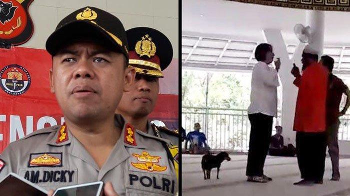 Wanita yang Viral karena Bawa Masuk Anjing ke Masjid Terancam Pasal Penistaan Agama