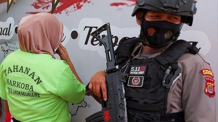 Pengakuan Wanita Hamil di Aceh Utara yang Ditangkap karena Edarkan Sabu, Bingung Mikirin 3 Anaknya