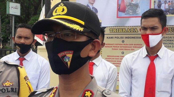 Polres Nagan Raya Buka Empat Pos, Larang Pengendara yang Mudik