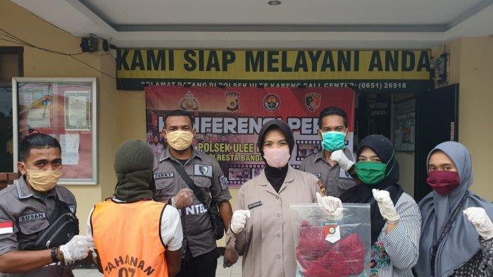 Personel Polsek Ulee Kareng Banda Aceh Ringkus Pemerkosa Ibu Rumah Tangga Ini Modus Tersangka Serambi Indonesia
