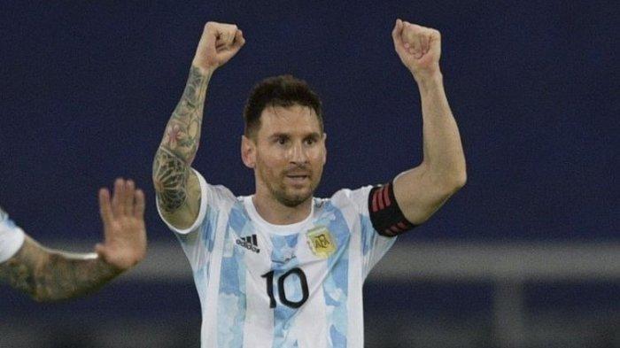28 Tahun Argentina Selalu Kalah atas Brasil di Copa America, Lionel Messi Hadapi Tantangan Besar