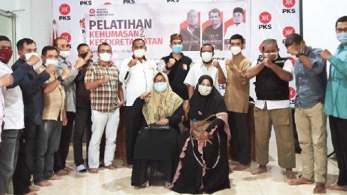 23 Pengurus DPC PKS Se-Aceh Besar Dilatih Kehumasan dan Kesekretariatan