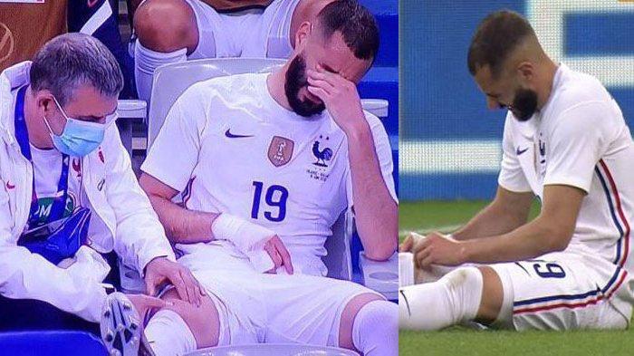 Karim Benzema Cedera Lawan Bulgaria, Petaka Bagi Timnas Prancis Jelang Laga Pembuka Euro 2020
