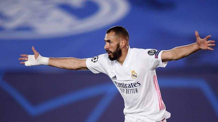 Karim Benzema Selevel dengan Raul Gonzalez, Top Skor Sepanjang Masa Liga Champions