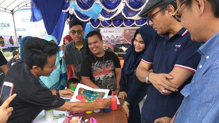 ISBI Aceh Demo Ekspresi Warna, Undang Pelajar dan Guru, Karya Kedua Boleh Bawa Pulang