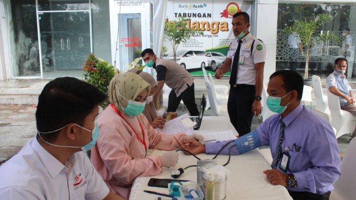 PMI Banda Aceh Kumpulkan Darah Sebanyak 87 Kantong dari Tiga Instansi