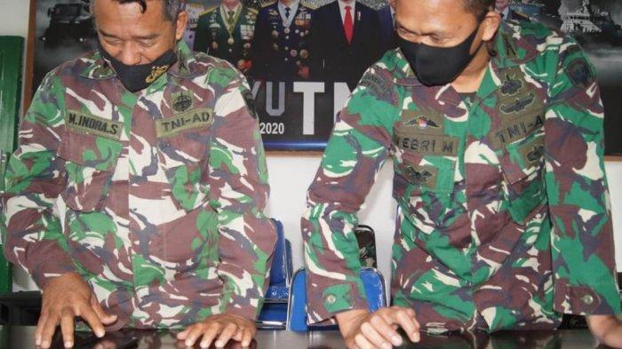Kodim 0119/ Bener Meriah Razia Hp Prajurit, Cegah Judi Online