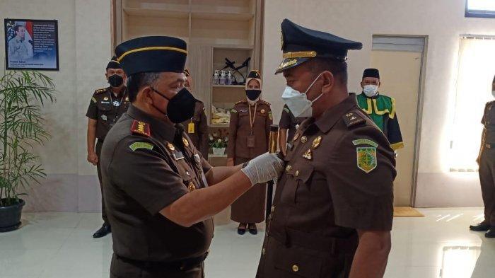 Muharizal Jabat Kasi Intel Kejari Banda Aceh GantikanMukhsin yang Kini Jabat Kabag Hukum Setdako