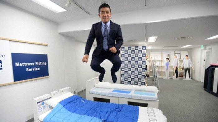 Bos Produsen Kasur Kardus, Tempat Tidur Atlet Olimpiade Tokyo Angkat Bicara