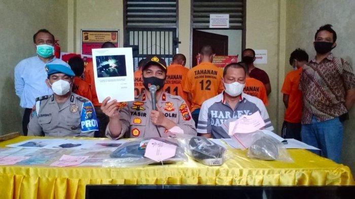 Bantai Remaja 17 Tahun di Medan, 7 Anggota Geng Motor RNR Ditangkap dan 10 Orang Masih Buron
