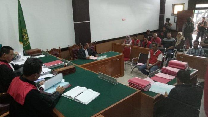 Kasus Selundupan Sabu 70 Kg, Napi Tanjung Gusta Medan Jalani Sidang Perdana di PN Lhoksukon