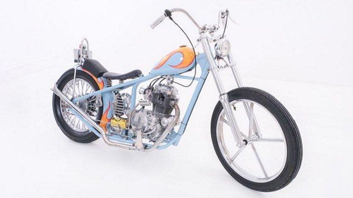 Kawasaki Binter Merzy Jadi Bergaya Chopper, Sebuah Impian Jadi Kenyataan
