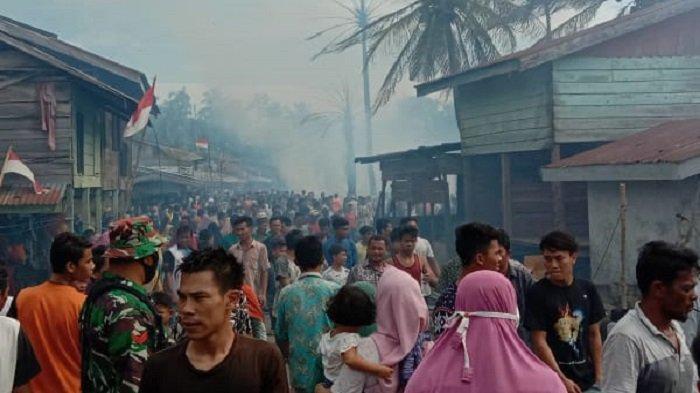 Ini Jumlah Rumah Terbakar di Sultan Daulat Subulussalam