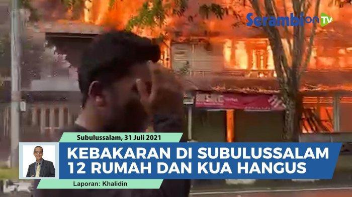 Semua Dokumen KUA Simpang Kiri Terbakar, Termasuk Akta Nikah Kosong dan Milik Pasangan Menikah