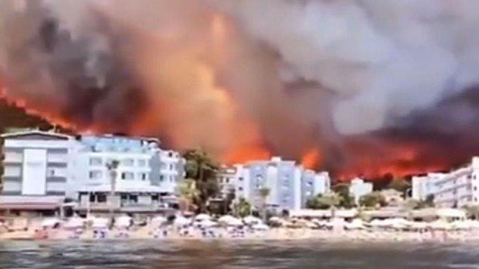 Delapan Orang Meninggal dalam Kebakaran Hutan di Turki