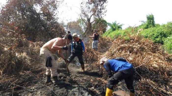 Memasuki Hari Ke-12, Tim Gabungan Berhasil Tuntaskan Pemadaman Kebakaran Lahan di Kecamatan Bakongan