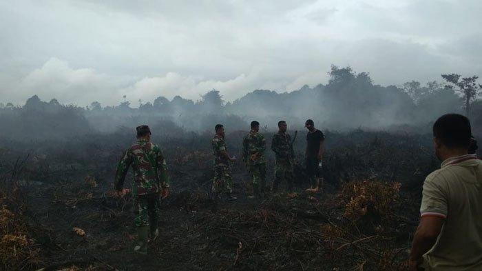 Kebakaran Lahan Gambut Landa Aceh Jaya, 1 Hektare Masih Berasap