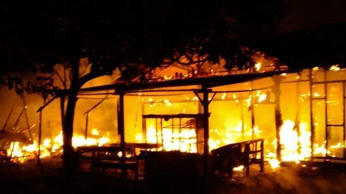 Empat Rumah dan Kedai di Lam Jamee Lamkrak Aceh Besar Terbakar