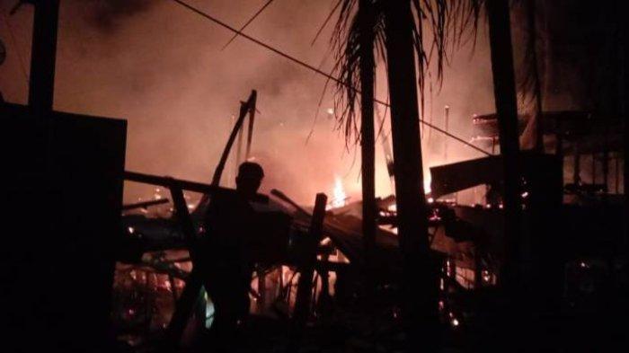Ini Identitas Pemilik Lima Rumah yang Terbakar di Langkahan, Aceh Utara
