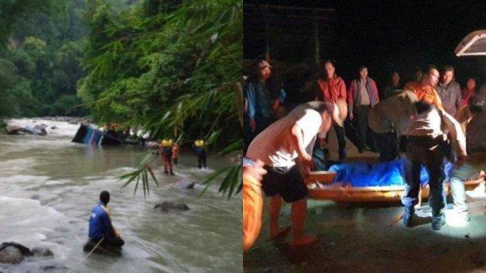 Bus Sriwijaya Terjun Bebas ke Jurang Sedalam 80 Meter, 26 Orang Tewas