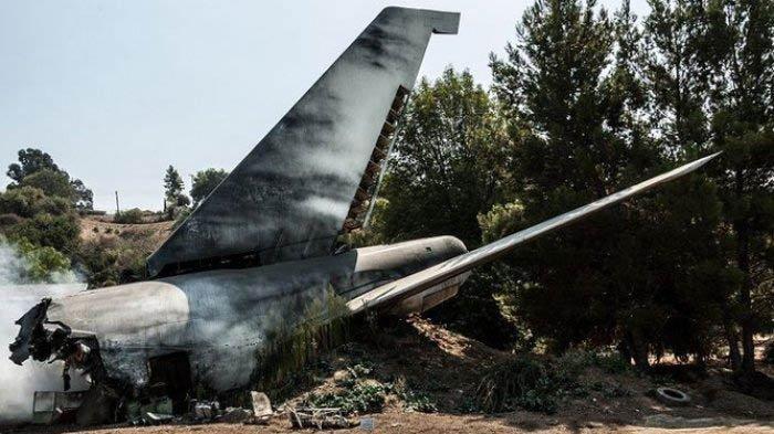 Pesawat Rimbun Air Jatuh di Pegunungan Dekat Bandara Sugapa Intan Jaya, Kondisi Hangus Terbakar