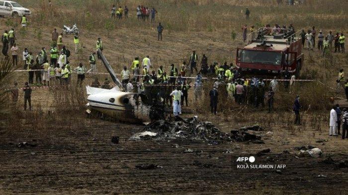 Pesawat Angkatan Udara Nigeria Jatuh, 7 Orang Tewas