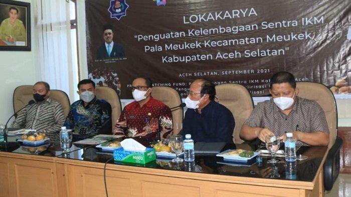 UTU dan Pemkab Gelar Loka Karya dan FGD Kelembagaan Sentra IKM Pala Meukek