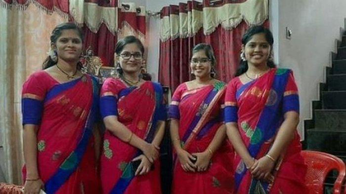 Kisah Wanita Kembar Empat akan Menikah Pada Hari yang Sama, Sang Ayah Bunuh Diri Sejak Mereka Kecil