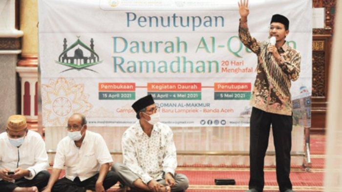 Ketua DPRK Tutup Daurah Alquran Masjid Oman