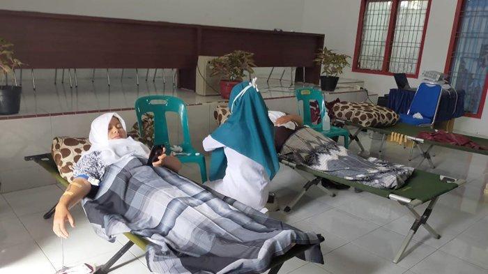 Kegiatan Donor Darah Menyambut Harganas Ke-27 di Bener Meriah, Ini Pesertanya