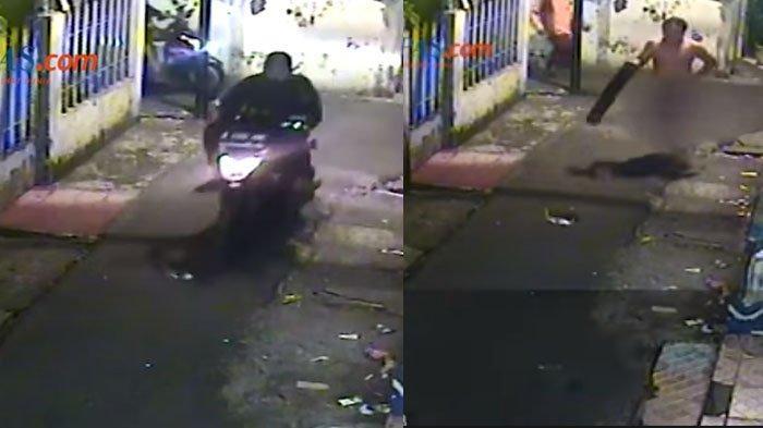 Motornya Dicuri Saat Hendak Mandi, Pria Ini Kejar Maling Cuma Pakai Handuk dan Bawa Balok