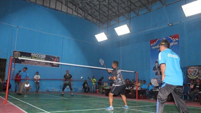 20 Tim Ramaikan Kejuaraan Badminton di Nagan Raya