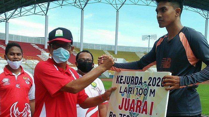 Fuad Mengalami Cedera, Syibral Juara 400 Meter Kejurda Atletik Aceh 2020