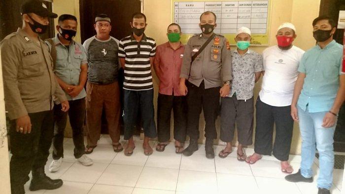 Penyidik Polres Simeulue Serahkan Lima Tersangka Kasus Pengeroyokan Nelayan ke Kejaksaan
