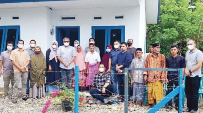 Keluarga Besar Badan Pengelolaan Keuangan Aceh (BPKA) Bantu Rumah Tipe 45 untuk Janda Miskin