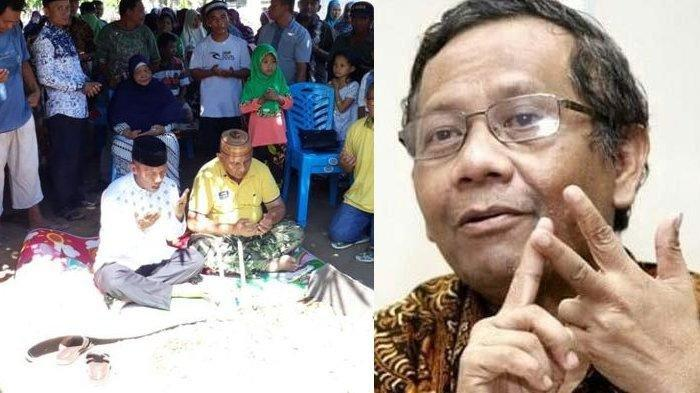 Berbeda Pilihan Politik, Makam Dipindahkan, Mahfud MD: Perlu Dipikirkan Dihukum Pidana