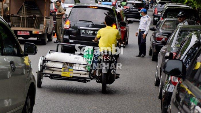 Jalan ke Tangse Padat, Ini Titik Kemacetan