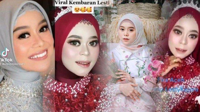Viral, Pengantin di Subulussalam Aceh Mirip Lesti Kejora, Begini Tanggapan Ayah Lesti dan Fansnya