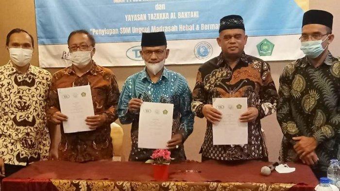 Kemenag Lakukan Ini untuk Dukung Pengembangan Pendidikan Vokasi MAN 1 Plus Keterampilan Aceh Utara
