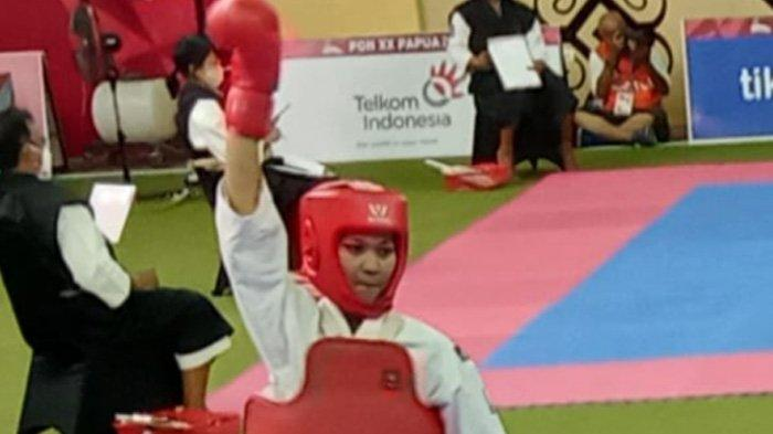 Arena Kempo PON XX Papua, Kenshi Aceh Lismarita Takluk, Maisarah Melaju ke Final