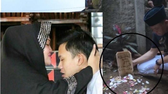 Kenangan ciuman kening dari Lina untuk Rizky Febian dan makam Lina mantan istri Sule