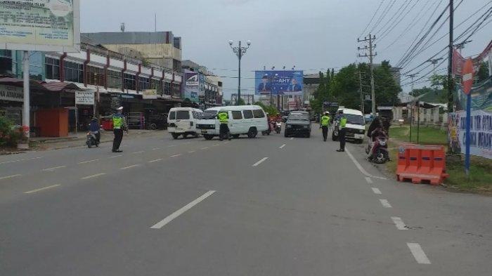 Angkutan Umum & Mobil Pribadi Diperintahkan Putar Balik di Simpang Arjun Bireuen, Ini Penjelasannya